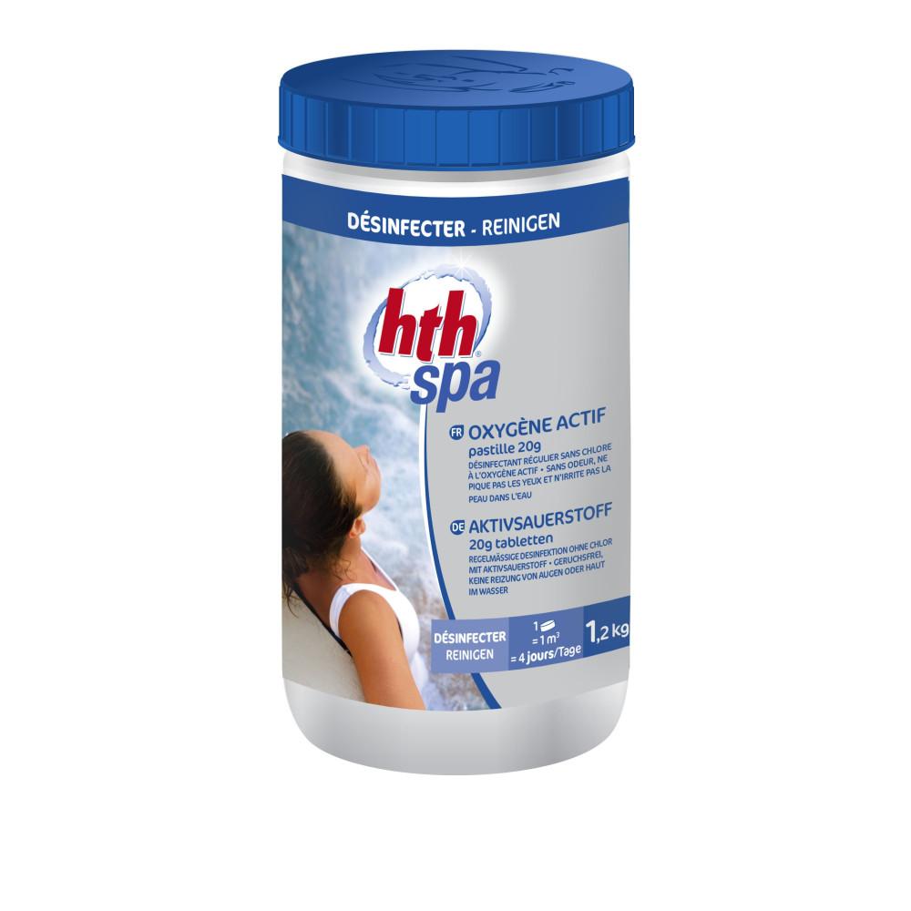 Oxygène actif - 1.2 kg - HTH SPA SPA HTH AWC-500-0205