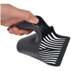 Flamingo Pelle a litière scooby noir pour chat 11.5 cm x 10 x 16 cm FL-560669 accessoire litière