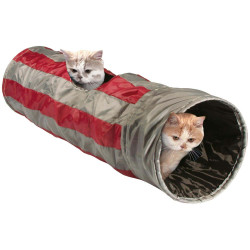 Flamingo Pet Products Feline play tunnel, ø 25 x 90 cm, for cats. Games