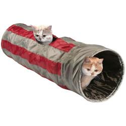 Tunnel de jeux pour chat ø 25 x 90 cm Jeux Flamingo FL-33161