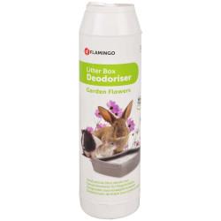 """FL-200404 Flamingo Lecho desodorante para roedores 750 g """"flores de jardín"""" Cajas de arena"""