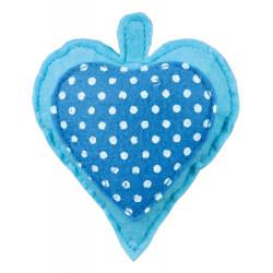 Feutre Cœur avec garnissage Valériane Jouet pour Chat, 11 cm Jeux Trixie TR-45779
