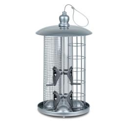 Vadigran Silo a nourriture pour oiseaux 3 en 1, MAURO. VA-13975 Mangeoires extérieur