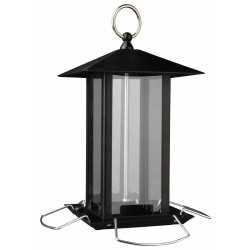 Outdoor feeder with metal perches Outdoor feeders Trixie TR-55621