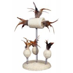 Trixie Naturspielzeug auf Federn für Katzen TR-40721 Spiele