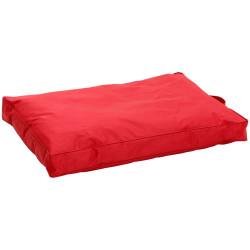 Coussin titan teflon rouge 80 cm x 55 cm H 8 cm pour chien Dodo Flamingo FL-1031250
