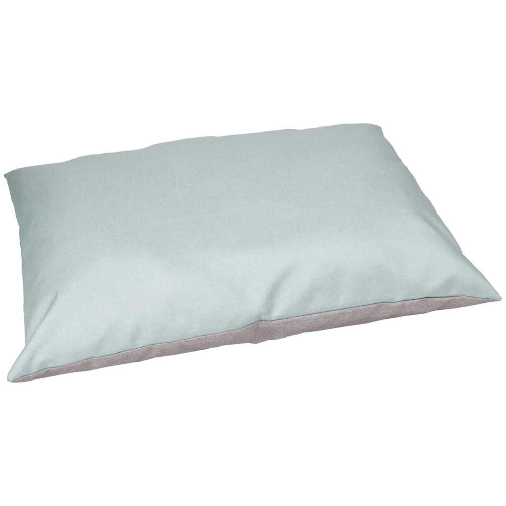 Flamingo Pet Products Gora dog cushion 100 x 70 x 15 cm pale blue Coussin chien