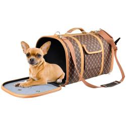 FL-518622 Flamingo Bolsa de transporte para perros Chloe 2 - tamaño 45 x 26 x 26 cm bolsas de transporte