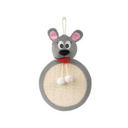 Nobby Grattoir souris 48 x 33 cm jouet pour chat VA-71988 Griffoirs et grattoir