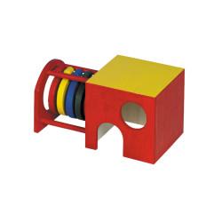 Nobby Maisonnette Viel Spaß 19 x 10,5 x 10 cm für Nagetiere VA-25464 Spiele, Spielzeug, Aktivitäten
