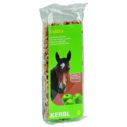 kerbl friandise Barre de céréales Delizia au pomme pour chevaux 2 x 50 g Friandise