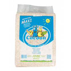 Hemp litter 3 kg - 30 L for rodents Hay, litter, chips Flamingo FL-208090