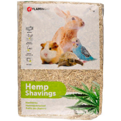 Flamingo FL-200401 Hemp straw bedding 3 kg or 48 L Hay, litter, shavings
