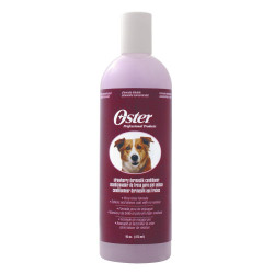 KE-84929 kerbl Acondicionador, fórmula de enjuague, Oster, acondicionador para perros 473 ml de aroma a fresa Champú