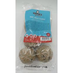 6 Boules pour mésange sans filet. 6 x 80 gr. EMMA'S GARDEN. Nourriture Vadigran VA-15589