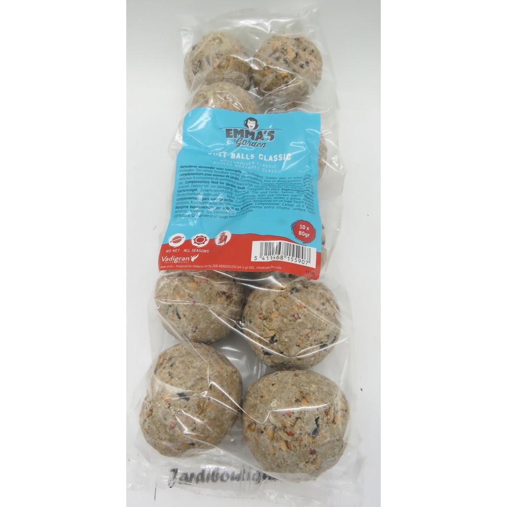 Vadigran VA-15590 10 tit balls without net .10 x 80 gr. EMMA'S Garden Reception