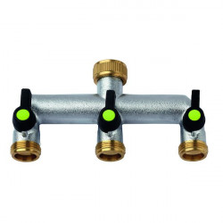 AQUAJET BP-52979722 3-way brass valve between 3/4 outlet 3/4 outlet 3/4 Plumbing