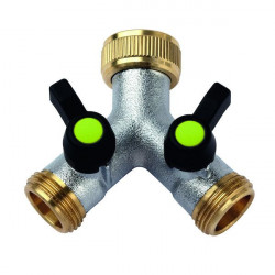 AQUAJET BP-52979528 Brass valve in Y inlet 3/4 outlet 3/4 Plumbing