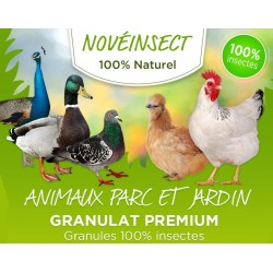 Alimentation granules de larves déshydratée 110 grammes Nourriture novealand GR2-110-APJ