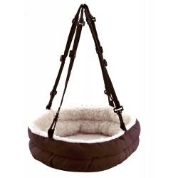 Trixie ein kuscheliges Bett zum Fixieren für kleine Tiere - Größe 30 x 8 x 25 cm, Farbe je nach Lagerbestand TR-62705 Betten,...
