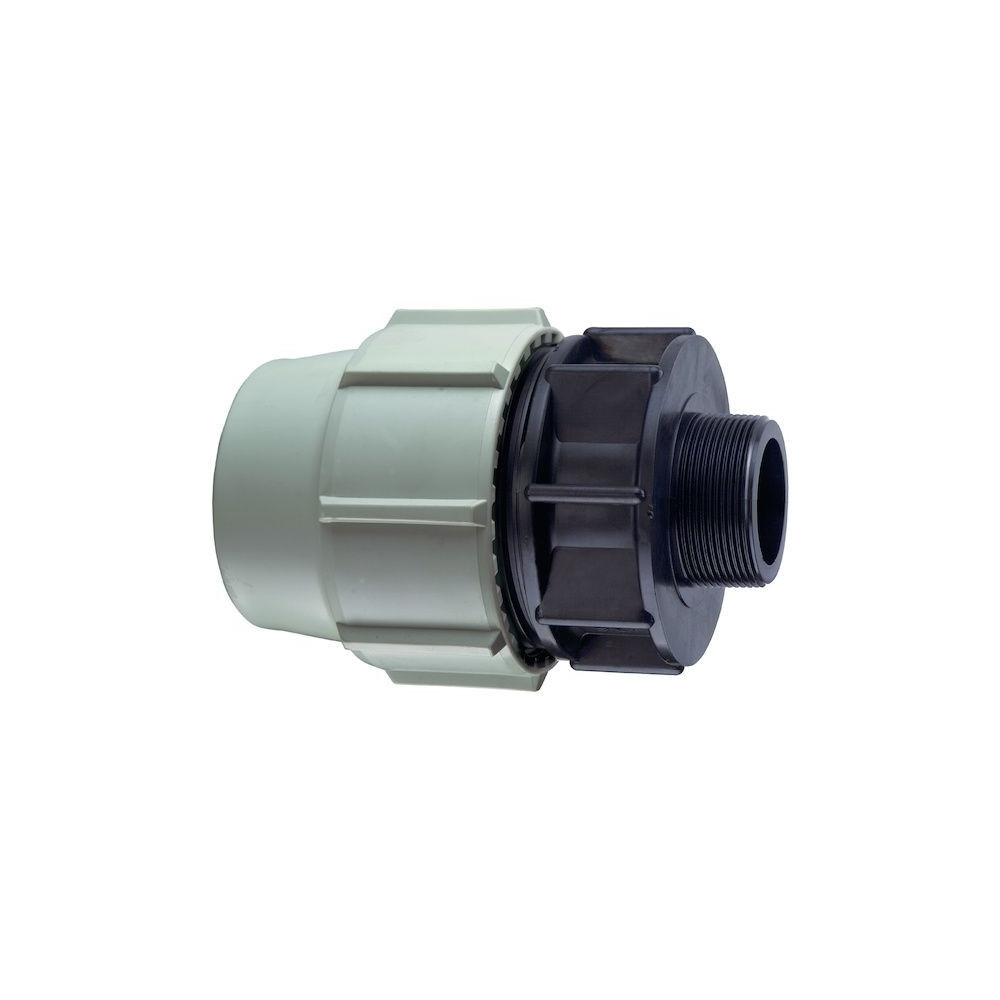 """Plasson BP-35469400 ø 25 mm 3/4"""" thread, one male compression fitting. Compression fitting"""