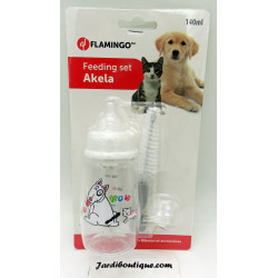 Flamingo FL-519565 AKELA 140 ML. bottle set for dogs and cats. Puppy