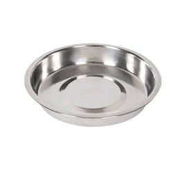 Flamingo FL-1030072 1.5 Liter, ø 25 cm, Stainless steel bowl, for animals Bowl, bowl, bowl