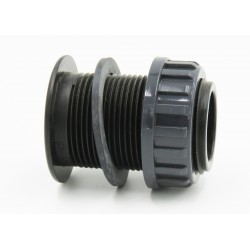 "1"" 1/4 PVC wall feed-through for female threaded connection PVC wall feed-through Generic SO-ASE11/4PP"