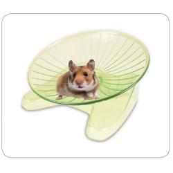 Flamingo Pet Products Plateau de course SUSIE ø 15 cm S .vert pour rongeur Jeux, jouets, activités