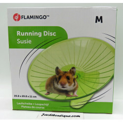 Flamingo FL-210194 SUSIE running board ø 20.8 cm M.green for rodents Games, toys, activities