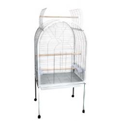 Cage pour perroquets POLLY blanc 77.5 x 60 x 155.5 cm Cages, volières, nichoir Flamingo FL-103350
