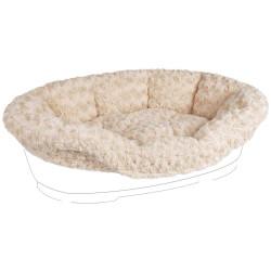 Flamingo Kuscheldecke für Bett DOMUS 70/80 cm. beige FL-516433 Dodo