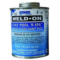 SC-IPS-560-0005 WELD-ON Cola azul para tuberías de PVC, bote IPS de 500 gr Fontanería