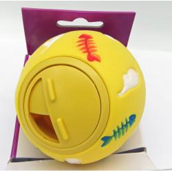 Balle distributrice de friandises TARVOS pour chats ø 7.5 cm Jeux Flamingo FL-501974