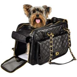 Sac de transport GIGI pour petit chien 40 x 22 x 28 cm sacs de transport Flamingo FL-518612