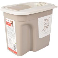 Boite stockage 2.2 L pour nourriture chien Boite rangement nourriture Flamingo FL-518983