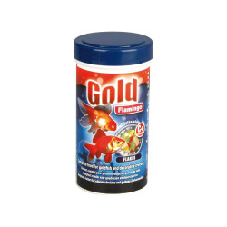 Gold aliment poisson rouge 250ml Nourriture Flamingo FL-404016