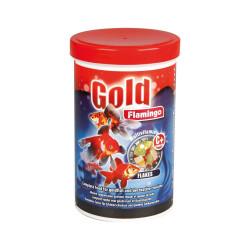 Flamingo Gold Goldfischfutter 1000ml FL-404017 Essen und Trinken