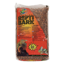 couvre sol écorce zoo med reptibark 1.6 kg pour reptile Substrats Flamingo FL-405047