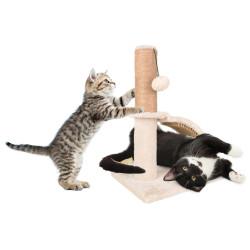 Arbre a chat, taille 35 par 35 cm, hauteur 43.5 cm, Sno 2. Arbre a chat Flamingo FL-560798