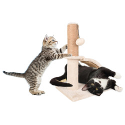 Flamingo FL-560798 Cat tree, size 35 by 35 cm, height 43.5 cm, Sno 2. Arbre a chat, griffoir