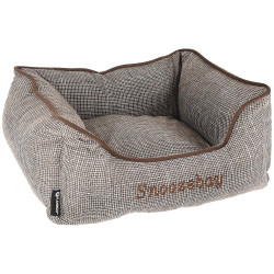 Flamingo FL-519411 Rectangular brown Snoozebay basket 50 x 40 x 18 cm - DOG Dodo