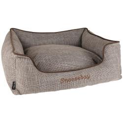 Flamingo FL-519413 Rectangular brown Snoozebay basket 70 x 60 x 22 cm - DOG Dodo
