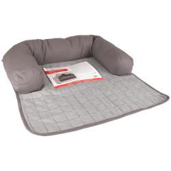 Flamingo Pet Products Sofa protector conrad grey 75 x 75 x 14 cm. for dog. Dodo
