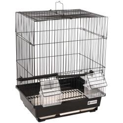 FL-110214 Flamingo Cage pour canaris Dolak 1 noir. 29.5 x 22 x 38 cm. pour oiseaux. Jaulas, pajareras, nidos