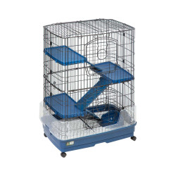 Flamingo FL-208077 TOWER M. cage for ferrets and rodents. 70 by 45 by 92 cm Height. Cage