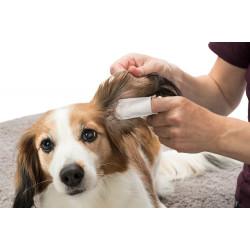 Trixie Doigtiers de soin pour les oreilles. pour animaux .50 pieces TR-29392 Soin et hygiène