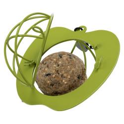 Mangeoire boule de graisse forme de pomme. pour oiseaux Mangeoires , abrevoir Trixie TR-55615