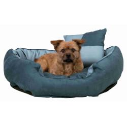 Trixie Lit réversible Basko 60 x 50 cm pour chien. couleur bleu. TR-37545 Dodo