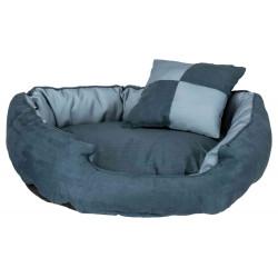 Trixie Basko reversible bed. 80 × 65 cm. for dog. color blue. Dodo